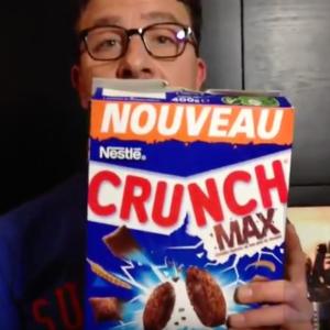 Test d'un nouveau produit industriel : Crunch Max de Neslé
