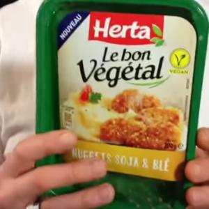 Test d'un nouveau produit industriel : Le Bon Végétal nuggets soja & blé Herta