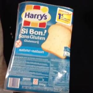 Test d'un nouveau produit industriel : Pain de Mie Si Bon sans Gluten Harrys