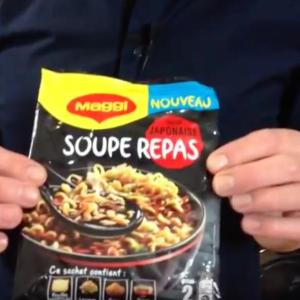 Test d'un nouveau produit industriel : Soupe repas façon japonaise Maggi