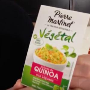 Test d'un nouveau produit industriel : Salade quinoa aux légumes Pierre Martinet