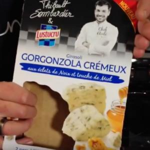Test d'un nouveau produit industriel : Girasoli gorgonzola crémeux de Lustucru