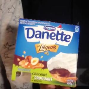 Test d'un nouveau produit industriel : Liégois chocolat lit croquant de Danette