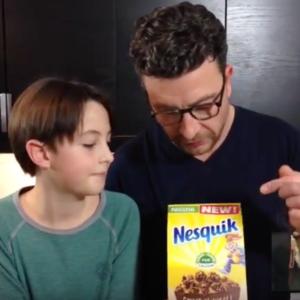 Test d'un nouveau produit industriel : Crunchy muesli de Nesquik