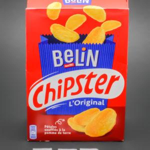 1 boite de 75g de Chipster de Belin contient 3,47 dosettes de sel soit 2,77g