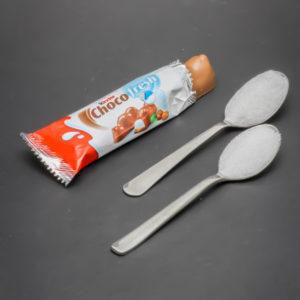 1 Kinder Chocofresh contient 1,7 cuil. à café de sucre soit 8,3g