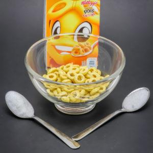 25g de Miel Pops sans lait contiennent 1,5 cuil. à café de sucre
