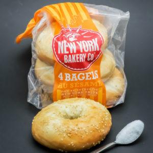 1 pain bagel contient 1 cuil. à café de sucre