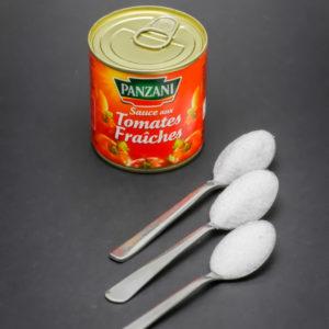 1 boite de sauce tomates fraîches Panzani