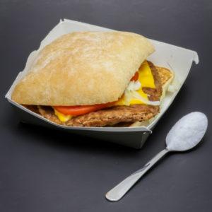 1 280 original de McDonald's contient 1 cuil. à café de sucre soit 5g