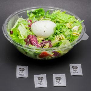 1 salade italian mozza McDonald's contient 4 dosettes de sel soit 3,2g