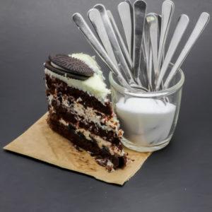 1 part de Cookies & cream cake Starbucks contient 12,7 cuil. à café de sucre soit 63,7g