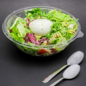 1 salade Italian Mozza McDonald's contient 1,6 cuil. à café de sucre soit 8g