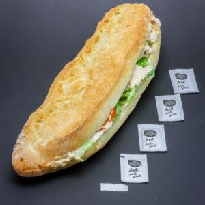 1 sandwich Dieppois de Paul contient 4,2 dosettes de sel soit 3,34g